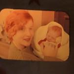 Alyce MAckerras with newborn Stephen Feb 1964 Beijing