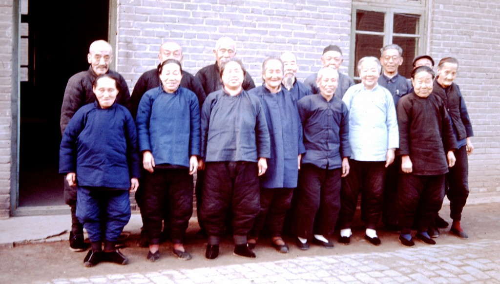 Aged care home in Beijing 1965