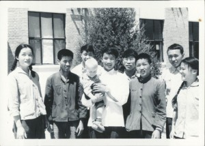 Students with Alyce Mackerras and Stephen Beijing, 1965