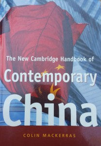 The New Cambridge Handbook of Contemporary China