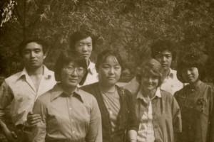 Wang Jiaxiang and Alyce 1979