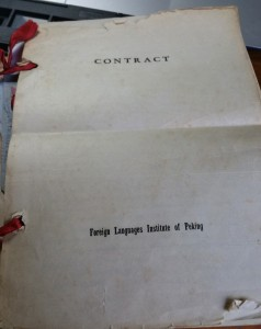 Beiwai contract 1964-66
