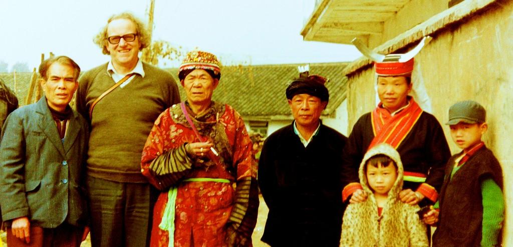 Colin with Yao people in Jinxiu, Guangxi