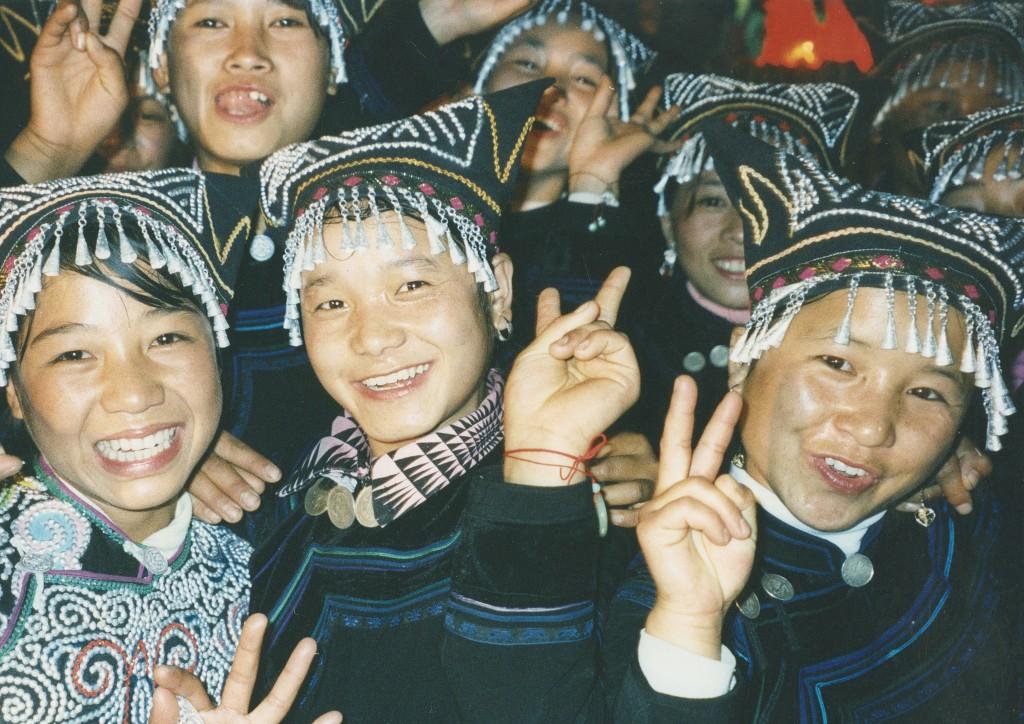 Hani woman in Yunnan