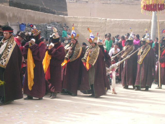 A Tibetan Chum Dance 2011 in Qinghai
