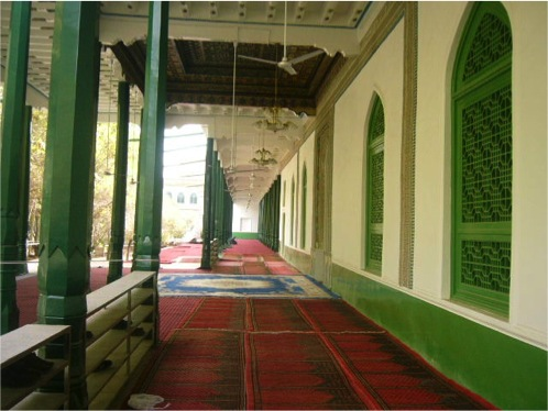 Section of the Idkah Mosque