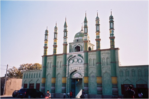 Main Uygur-style Mosque in Turpan, Central Xinjiang