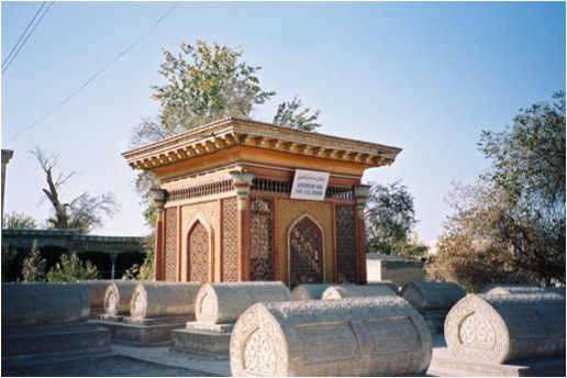 Tomb of Abdurixithan Khan, Golden Mosque, Yarkant